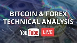 Is #Bitcoin forming a bear flag or double bottom? - 8/26/18 - LIVE