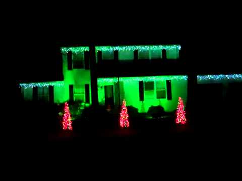 Christmas Vacation Christmas Light Show