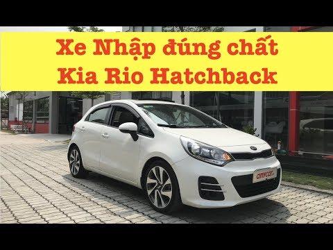 (ĐÃ BÁN) Xe Nhập đúng chất: Kia Rio Hatchback 1.4AT 2015
