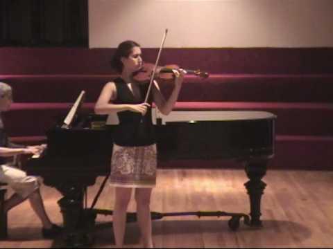 Vieuxtemps Concerto and Bach Partita