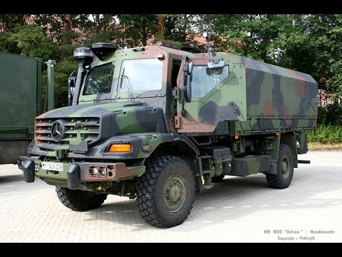 Mercedes-Benz ZETROS 2733 - YouTube