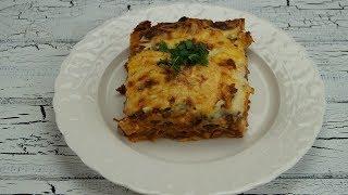 Kiymali Lazanya Tarifi (Lasagne mit Hackfleisch)
