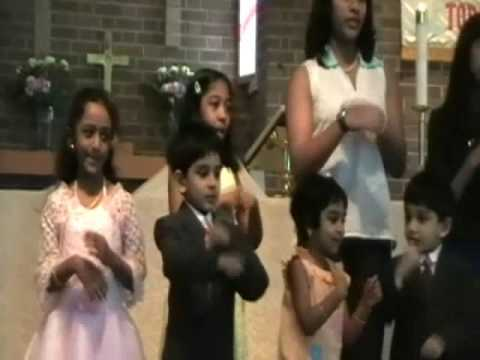 It's bubbling - Sunday school Song - Easter 2009