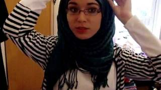 Hijab Tutorial Narrow DarkGreen
