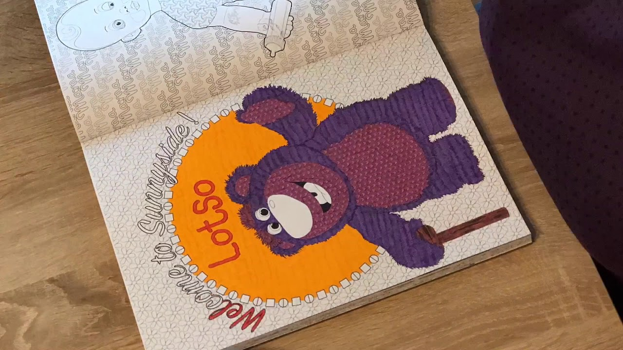 Coloriage Ep 3 Lotso Toy Story 3 Youtube
