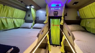AC Sleeper Bus with Toilet - IntrCity Smart Bus by RailYatri.in