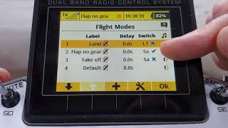 Jeti - Flight Modes For A Scale Model