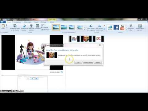 Comment convertir un fichier fait sur movie maker en fichier MP4