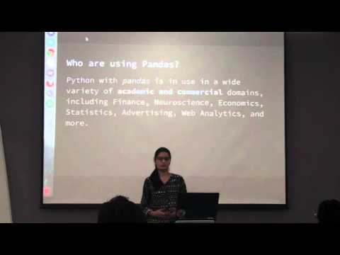 Introduction to Pandas & Seaborn by Madhavi