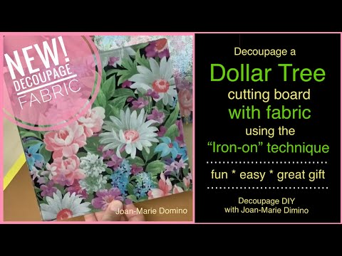 """decoupage-fabric-onto-a-dollar-tree-""""glass-cutting-board""""-