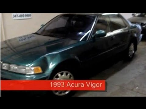 1993 acura vigor sedan 2 5 l g25a vehicle overview youtube