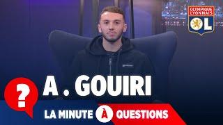 VIDEO: La minute à questions VS Amine Gouiri | Olympique Lyonnais