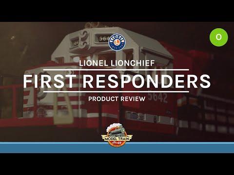 O Gauge Lionel LionChief First Responders Set