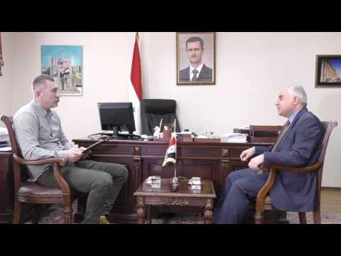 Interview with the Ambassador of the Syrian Arab Republic in Ukraine Dr. Hasan Khaddour