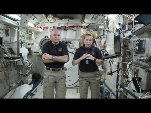 Astronauts Talk about Research on the ISS