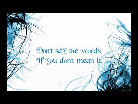 If You Don't Mean It by Dean Geyer with lyrics