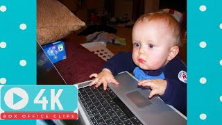 AMAZING! SMART BABIES USING COMPUTER   Funny Babies and Pets