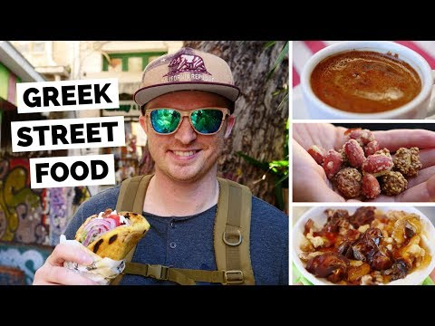 Greek Street Food Tour in Athens, Greece