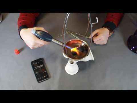 Газовая горелка для розжига угля для кальяна видеобзор