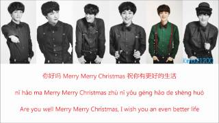 EXO-M - First Snow (初雪) [Chinese/Pinyin/English] Color & Picture Coded HD
