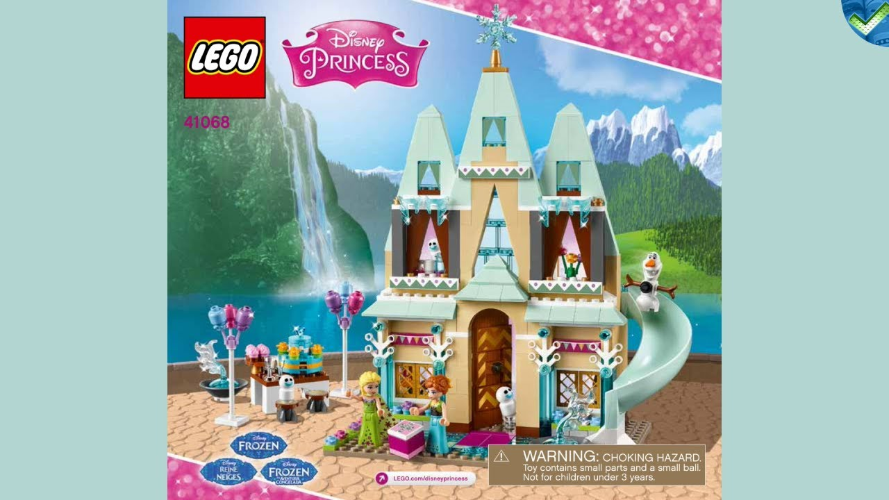 41068 Arendelle Castle Celebration Lego Disney Manual At The Brickmanuals Instruction Archive Youtube