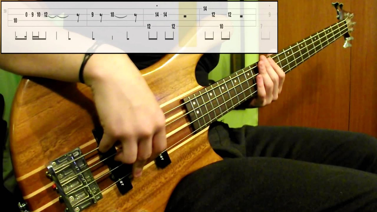 Red Hot Chili Peppers - Can't Stop (Bass Cover) (Play Along Tabs In Video)