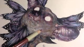 Marco Mazzoni: How to draw a Lemur