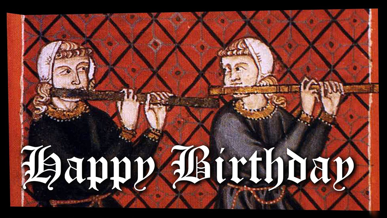 Happy birthday free music card medieval musicians playing jazz happy birthday free music card medieval musicians playing jazz youtube bookmarktalkfo Images