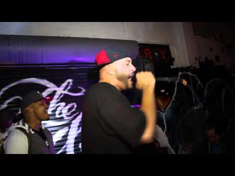 D-BOY P.CHASE LIVE ON STAGE WITH BAD LUCC