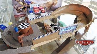 Carros 3 Corrida em Thomasville Racing Speedway - Carrinhos de Brinquedos