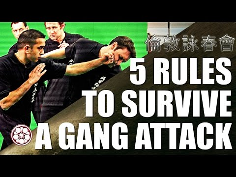 Thumbnail: How to Fight Multiple Attackers | 5 Rules to Survive & Defend Yourself in a Fight