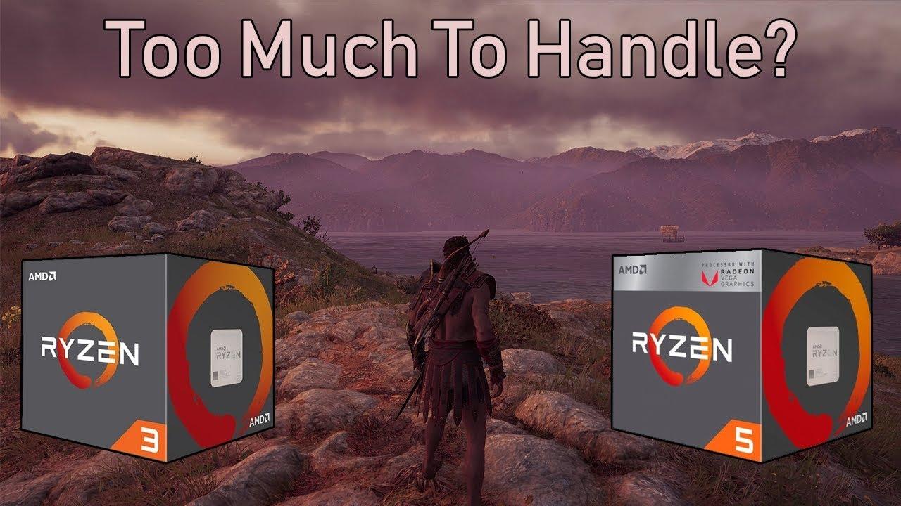Can AMD's Ryzen APUs Run Assassin's Creed Odyssey?