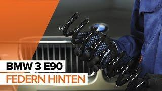 Wie und wann wechseln Fahrwerksfedern hinten + vorne BMW 3 (E90): Video-Tutorials