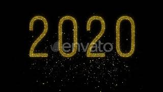 Happy New Year Countdown 2020 After Effects Template