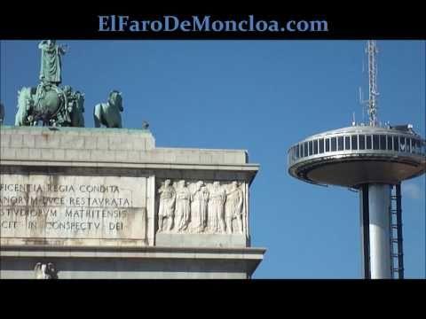 El Faro De Moncloa And Arco De La Victoria, Madrid
