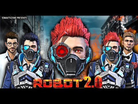 Robot 2.0 : रोबोट Short Film | Action And Thriller Free Fire Movie | Free Fire Superhero Series