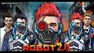Robot 2.0 : रोबोट Short Film | Action And Thriller Free Fire Movie | Free Fire Superhero Series YouTube Videos