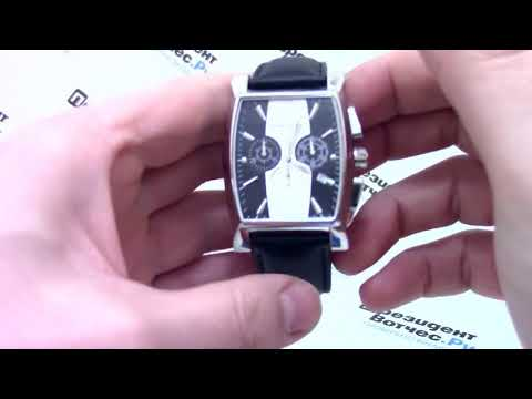 Часы Romanson Adel TL 1249H MW(BK)BK - видео обзор от PresidentWatches.Ru