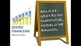 Aula 04 - Gestão do Disponível - Modelo de Baumol