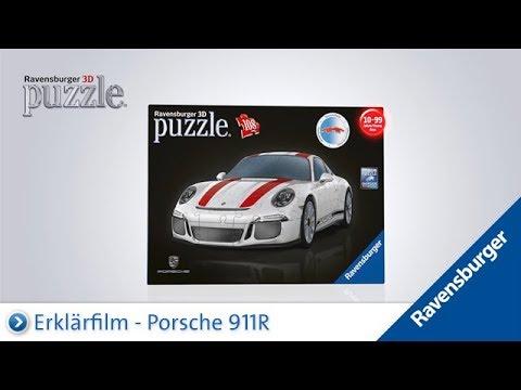 50ad6f374 Ravensburger 3D Puzzle: Porsche 911R - YouTube