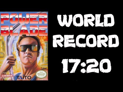 Power Blade (former World Record) Speedrun - 17:20