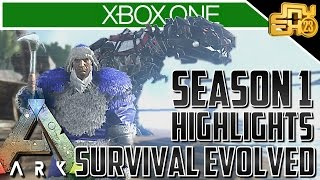 Ark Xbox One Gameplay - SEASON 1 HIGHLIGHTS!! (Best Moments)