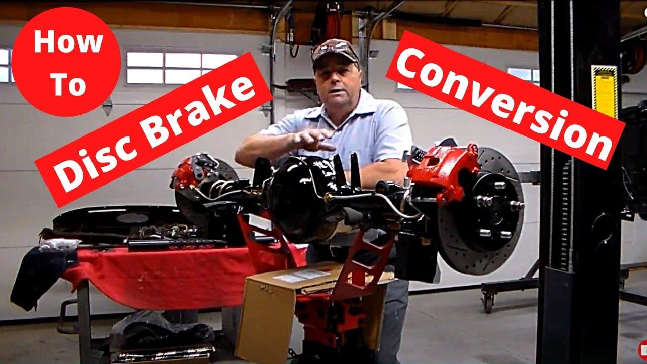 Mopar 8 3/4 MBM Rear Disc Brake Installation By Vtwinstov8s com