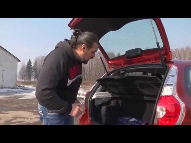 Фоток  видео: Обзор Datsun mi-DO с автоматической коробкой