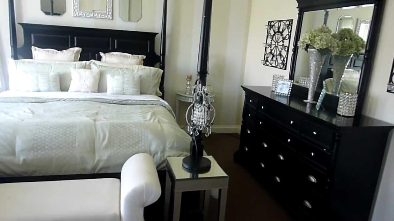 Decorating A Bedroom My Master Bedroom  Decorating On A Budget  Youtube