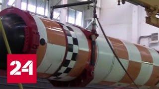 Военные показали испытания подводного беспилотника