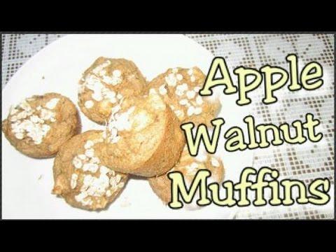 apple-walnut-muffins:-no-flour,-sugar-or-oil-added