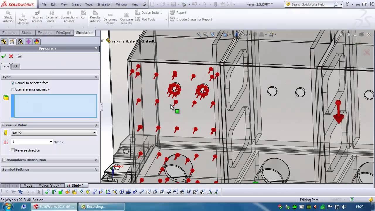 Vacuum simulator and its features