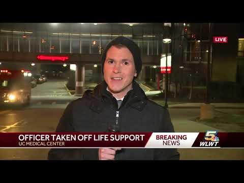 Colerain officer taken off life support