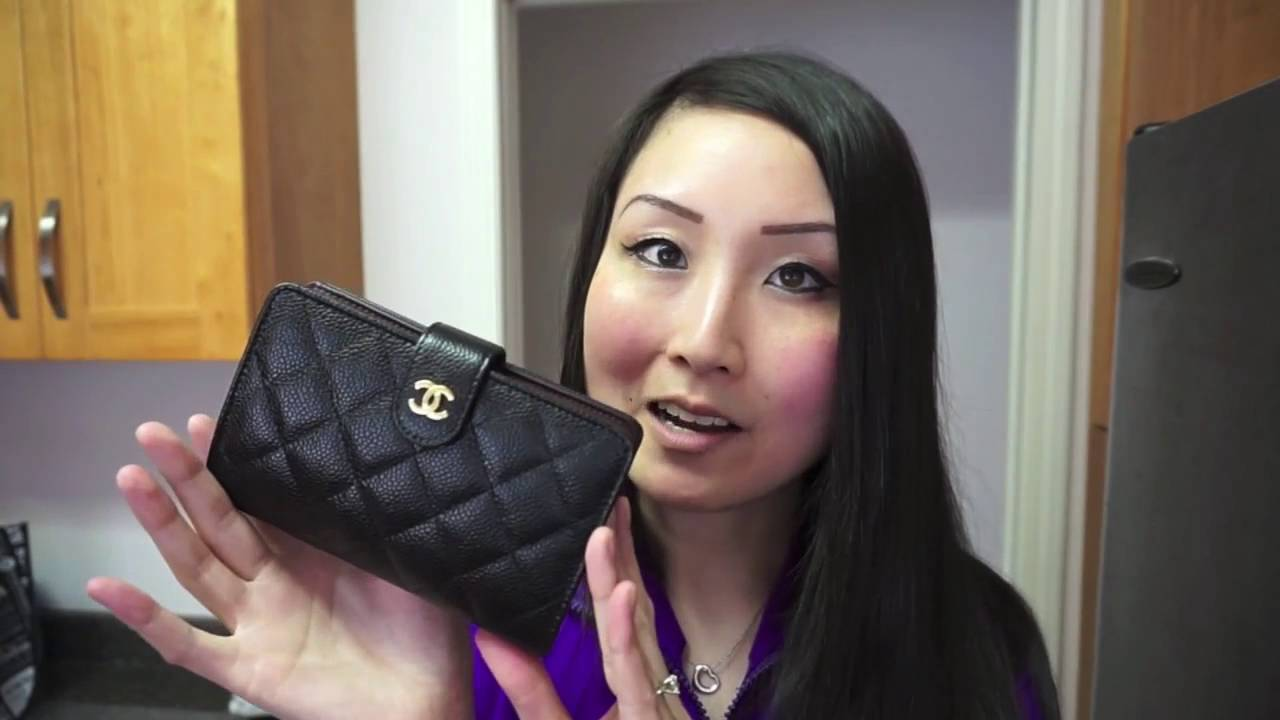 817c0a3de9ca Chanel L-Zip wallet | Reveal - YouTube